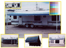 Rv Awning Screen Room 19 Ft Roll Up Awning Screen Room