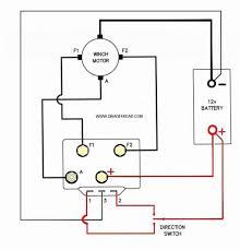 dc shunt winch motor wiring diagram dc wiring diagrams