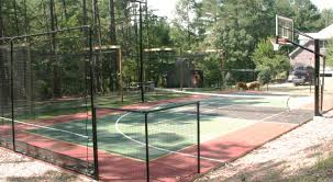 multi sport game courts for the diy er by playmaker courts
