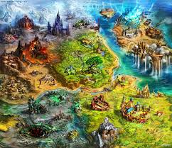 World Map Artwork by Asperia World Map By Tsabo6 On Deviantart