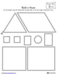 house scissor practice scissor skills printable worksheets and