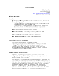 academic resume template resume for your job application