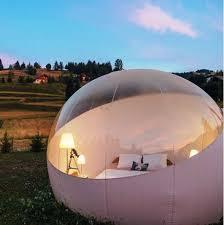 bulle chambre nuit en bulle petit déjeuner et spa ideecadeau fr