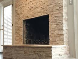 interior interior simple rock fireplace ideas with brick stone