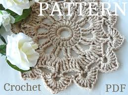 home decoration pdf luxurious swirl large crochet tablecloth crochet doily pdf