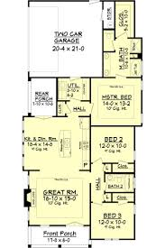 Two Car Garage Size by 583 Best Floor Plans Images On Pinterest House Floor Plans