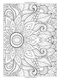 flower design coloring pages funycoloring