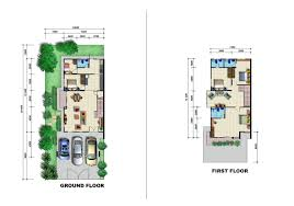 Floor Plan Two Storey by Pearl Garden Double Storey Semi Detached Site U0026 Floor Plan