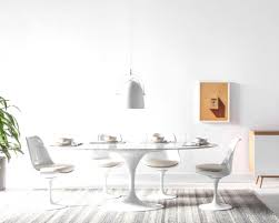saarinen oval dining table reproduction impressive saarinen style oval tulip marble ining furniture table