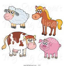 cow and pig clipart clipartxtras
