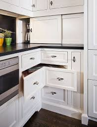 Painting Black Furniture White kitchen storage shelves recessed downlight white painted wall