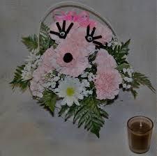 bellevue florist pink poodle basket in bellevue ne bellevue florist