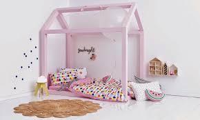 fabriquer une chambre diy bricolage fabriquer lit cabane bois bonbon chambre fille