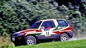toyota rally car toyota rav4 ev 3 door rally car u00271998 youtube