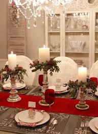 Dining Room Cool Diy Christmas Table Decoration Ideas With by Best 25 Christmas Table Centerpieces Ideas On Pinterest Diy