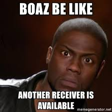 Kevin Hart Meme Generator - boaz be like another receiver is available kevin hart nigga meme