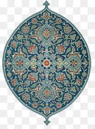 islamic decorative map pendant decoration drawing vector