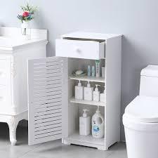 kitchen cupboard doors and drawers bathroom cabinet organizers urhomepro storage cabinet w doors drawer and shelves bathroom floor standing cabinet kitchen cupboard pvc storage
