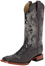 ferrini s boots size 11 amazon com ferrini s print crocodile s toe boot