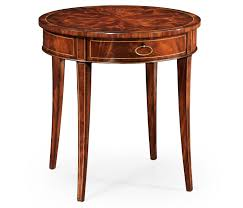Round Plastic Patio Tables by Mahogany Side Table Fine Stringing