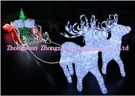 Outdoor Christmas Decorations Animals by 3feet Sale High Quality Led Christmas Figures 3d Acrylic
