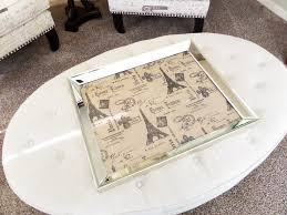 modern mirrored coffee table tray design for luxury u2014 bitdigest design