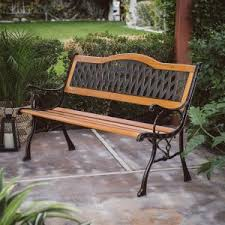 Antique Cast Iron Garden Benches For Sale by Metal Bench On Hayneedle Metal Garden Bench