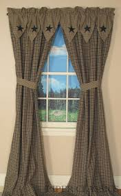 best 25 primitive curtains ideas on pinterest country window and