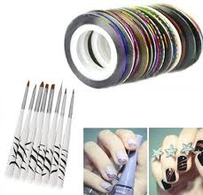 popular nail stripes buy cheap nail stripes lots from china nail