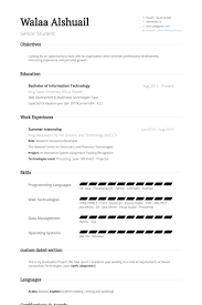 Sample Resume Objectives For Internships by Summer Internship Resume Samples Visualcv Resume Samples Database