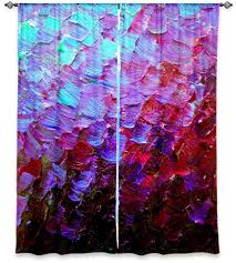 Ombre Window Curtains Mermaid Scales Window Curtains Sizes