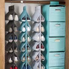 side sling hanging shoe storage mini dot decor pinterest