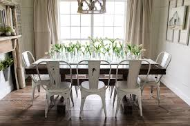 chairs to go with farmhouse table farm table with metal chairs healthcareoasis