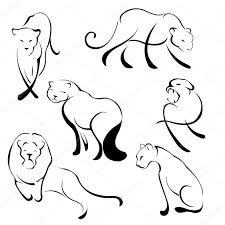 13 best small lion tattoo outline images on pinterest drawing