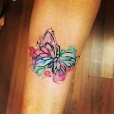 my watercolor butterfly and simple