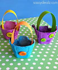 easter egg baskets to make egg easter basket craft for kids crafty morning