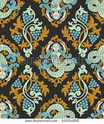 vector seamless pattern traditional russian folk stock photo photo