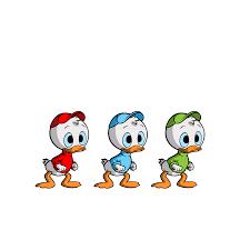 coloring amusing donald duck nephews elegant dtr ss 10