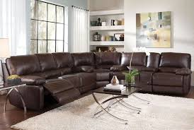 Top Grain Leather Sectional Sofas Top Grain Leather Sofa Recliner Facil Furniture Regarding Top