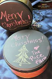 bulk cookie tins paint tins with chalkboard paint then put chalkboard