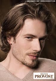 Frisuren Lange Haare Cosmoty by Lässiger Stufenschnitt Bei Insgesamt Längerem Haar Männer
