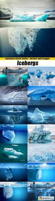 icebergs 15x jpegs free stock image free graphic templates
