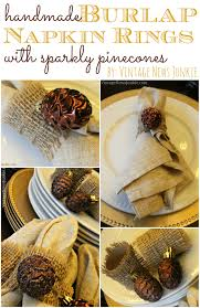 diy pinecone christmas tree from vintage news junkie so much