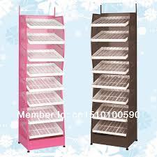 optional color metal flooring nail polish display holder shelf