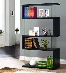 amazon com coaster bookshelf black kitchen u0026 dining