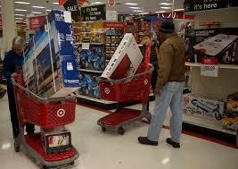 target black friday paper joke images black friday shoppers hunt for bargains