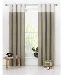 Two Tone Curtains Beautiful Two Colour Curtains Designs With Two Tone Eyelet