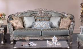 Zara Sofa Bed Silver Traditional Sofa In Fabric W Optional Items