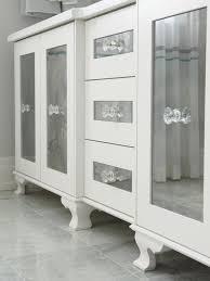 white bathroom vanity cabinets with glass doors photos hgtv tsc