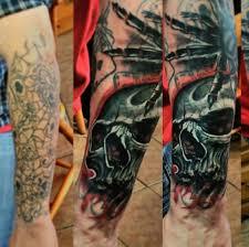 cover up in progress raphael boisvert nault johnny boy tattoo